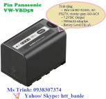Pin Panasonic VW-VBD58