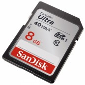 Sandisk SDHC 8GB Ultra Class 10 (40Mb/s)